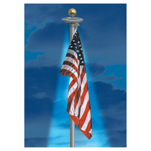 Solar Lights For In Ground Flag Poles Flag Blog