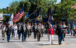 AMVETS Milford July 4 Parade 2014